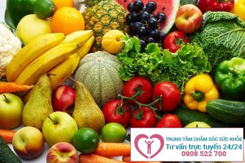 Nên ăn nhiều rau xanh để phòng ngừa bệnh phì đại cổ tử cung.