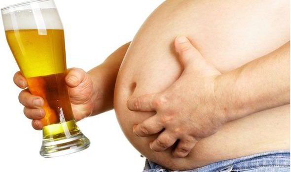 Béo bụng do bia rượu gây nên phình bụng