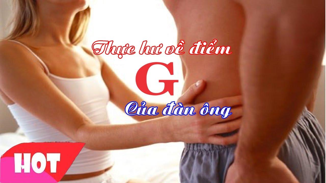 Đâu là điểm G của các quý ông