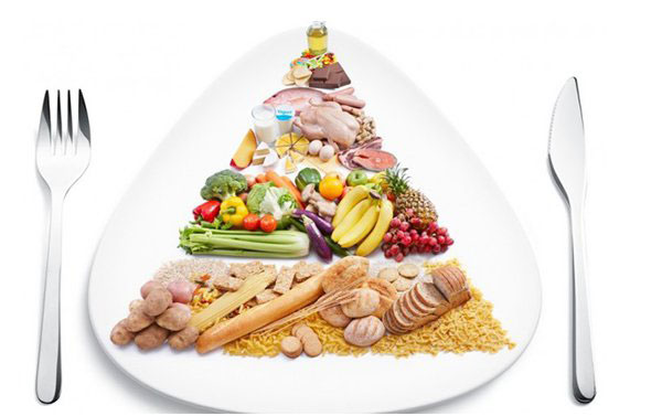 Tháp dinh dưỡng giúp đảm bảo lượng thực phẩm tiêu chuẩn