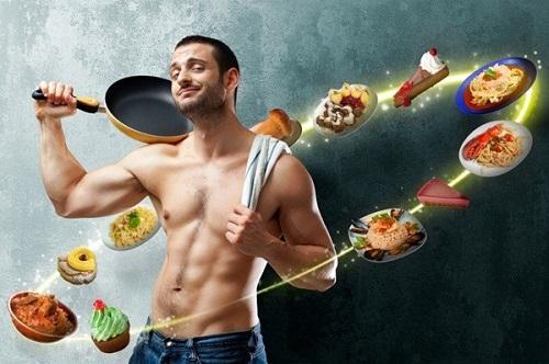 Cần có một bữa ăn, dinh dưỡng hợp lý để tăng cường sinh lý cho phái mạnh